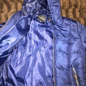 Puffer blue jacket